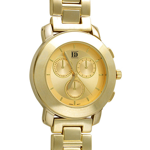 All Gold Womens Sporty Bold Watch