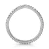 Silver CZ Winged Eternity Fashion Ring