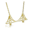 Jewelure Golden Gate Bridge Necklace