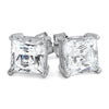 7mm Princess Cut 5A Flawless Simulated Diamond Studs