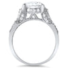3.30 CTW Fancy Sterling Silver CZ Fashion Ring