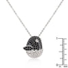 Baby Bird Micropave CZ Pendant Set
