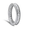 1.5 CTW Princess Cut CZ Eternity Band