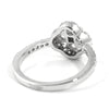 Sterling Silver Cubic Zirconia Fashion Cluster Ring