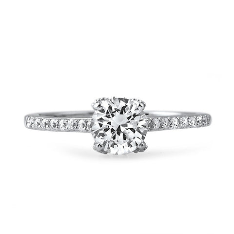 1 CTW Fancy Solitaire Engagement Ring