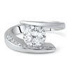 2.25 CTW Modern Cubic Zirconia Fashion Ring