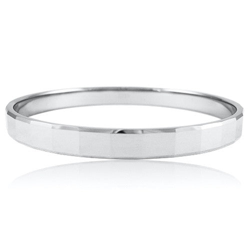 8mm HERA Tungsten Carbide Bangle