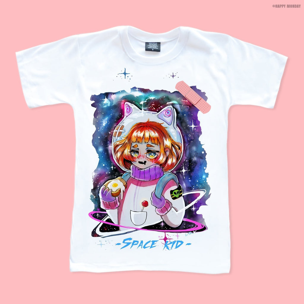 Space Kid - Happy Monday | Kawaii Anime Handmade Clothes