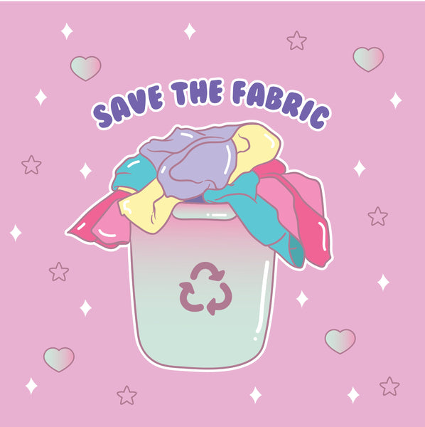 SAVE THE FABRIC - Happy Monday