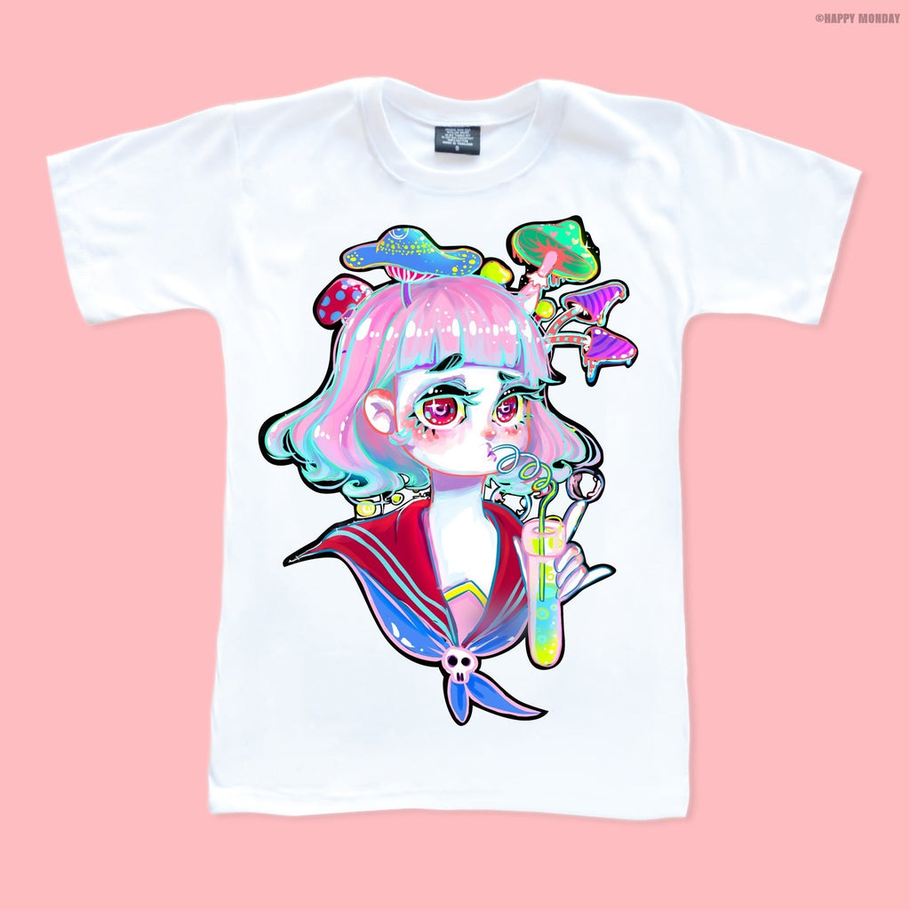 Anime Chemist Girl - Happy Monday | Kawaii Anime Handmade Clothes