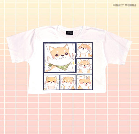 Cute Inu - Happy Monday | Kawaii Anime Handmade Clothes