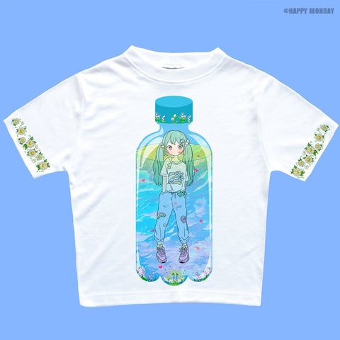 Girl In Bottle - Happy Monday | Kawaii Anime Handmade Clothes