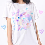Pokemon (Sylveon) - Happy Monday | Kawaii Anime Handmade Clothes