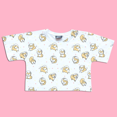 Doggy Astronauts - Happy Monday | Kawaii Anime Handmade Clothes