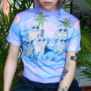 Squirtle Gang - Happy Monday | Kawaii Anime Handmade Clothes
