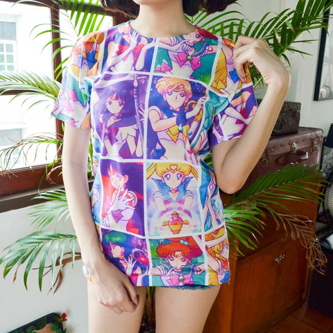 Sailormoon - Happy Monday | Kawaii Anime Handmade Clothes