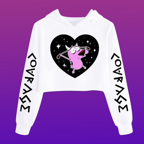 Courage Long Sleeves - Happy Monday | Kawaii Anime Handmade Clothes