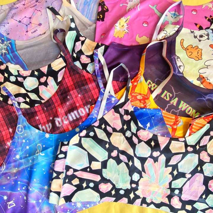 SAVE THE FABRIC - Happy Monday | Kawaii Anime Handmade Clothes
