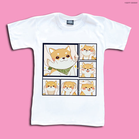 Shiba Inu - Happy Monday | Kawaii Anime Handmade Clothes