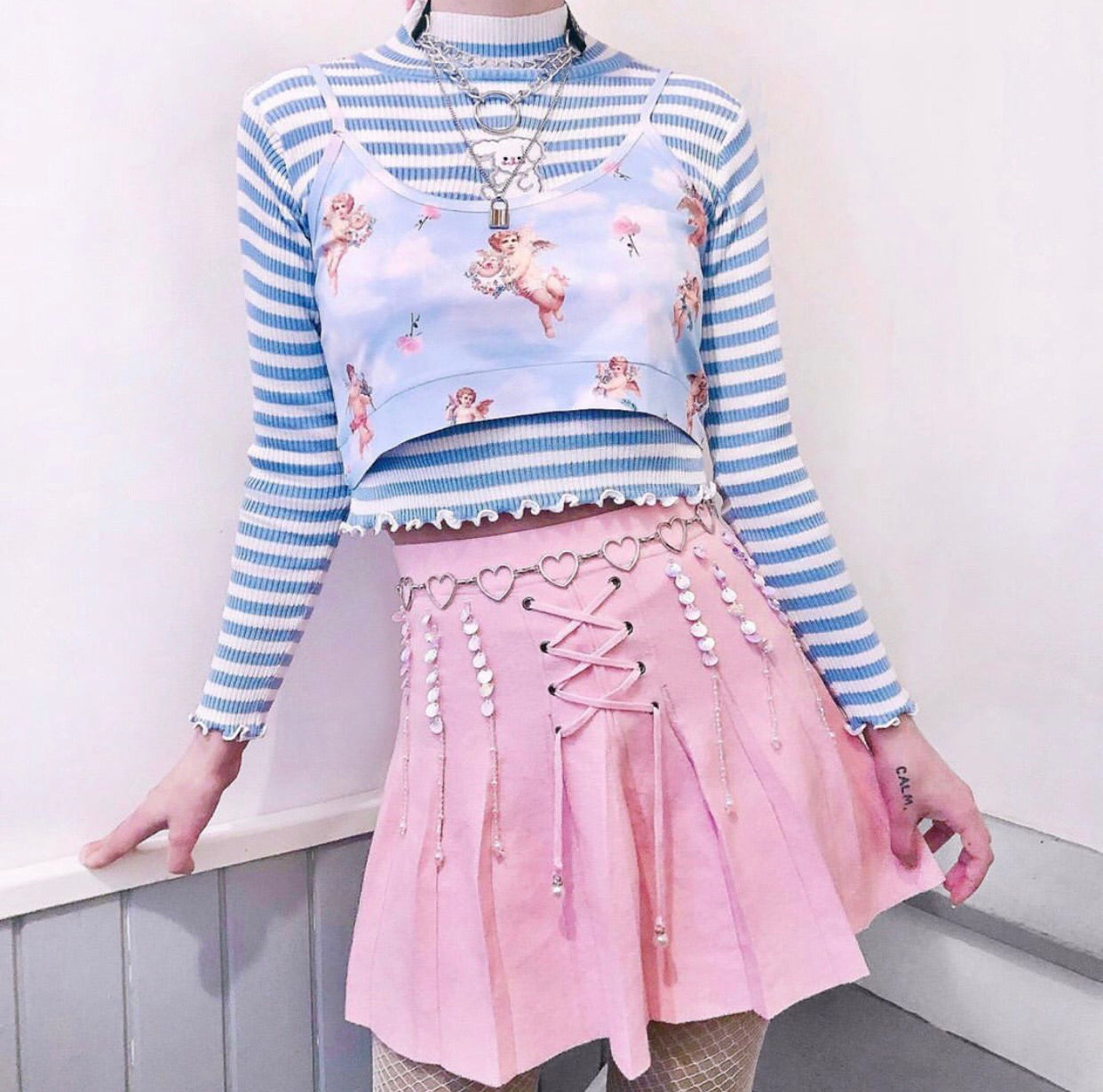 Cupid Crop - Happy Monday | Kawaii Anime Handmade Clothes