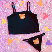 Cute Bear Set (Black)