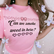 Smoke Weed - Happy Monday | Kawaii Anime Handmade Clothes