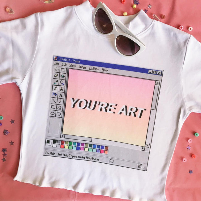 YOU'RE ART - Happy Monday | Kawaii Anime Handmade Clothes