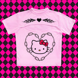 Hello Kitty - Happy Monday | Kawaii Anime Handmade Clothes