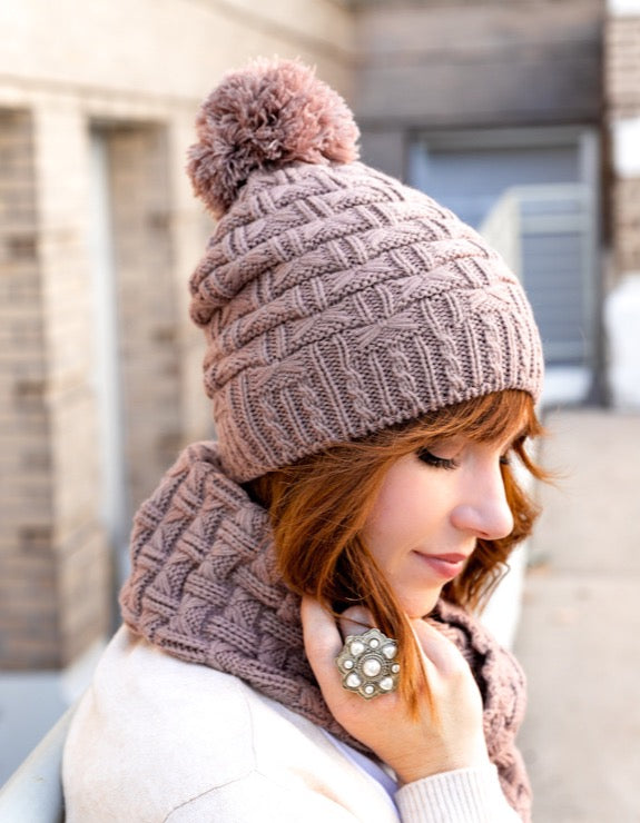 Paige Hat & Scarf Set