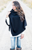 Fleece Poncho | 4 Colors