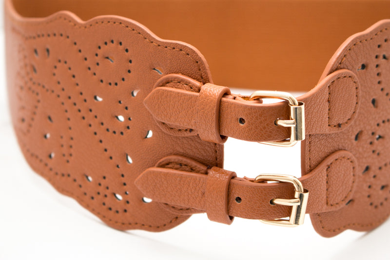 Double Buckle Stetch Belt