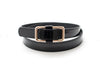 Spring Leather Skinny Belts
