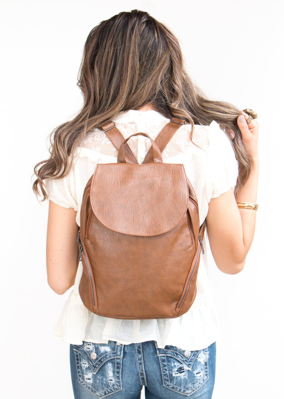 The Mia | Leather Backpack