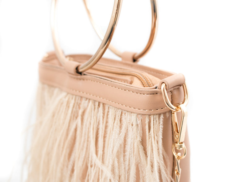 Feather Handbag