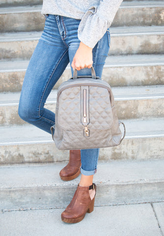 Addison Leather Backpack
