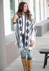 Long Sweater Poncho