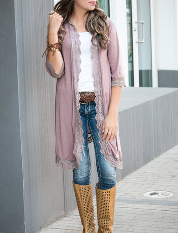 Long Leopard Sweater Cardigan
