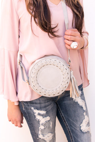 Crossbody Circle Bag | 4 Colors