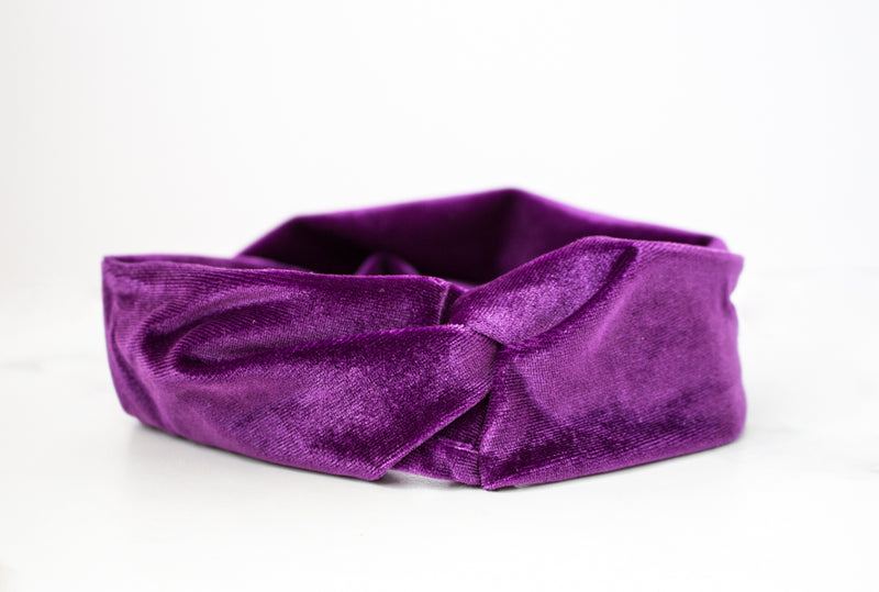 Velvet Twist Headbands