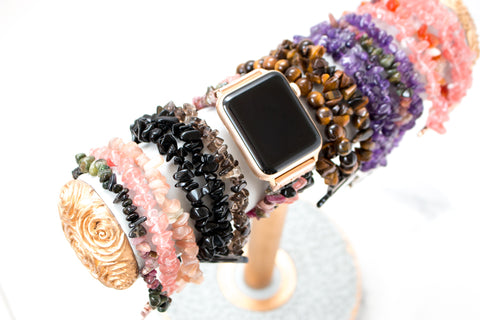 Leather Braided Wrap Apple Watch Bands