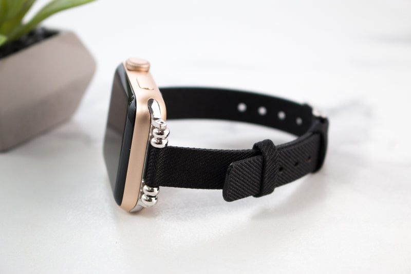 Stacia Canvas Apple Watch Band