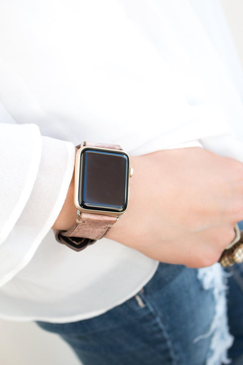 Nikkie Leather Apple Watch Band