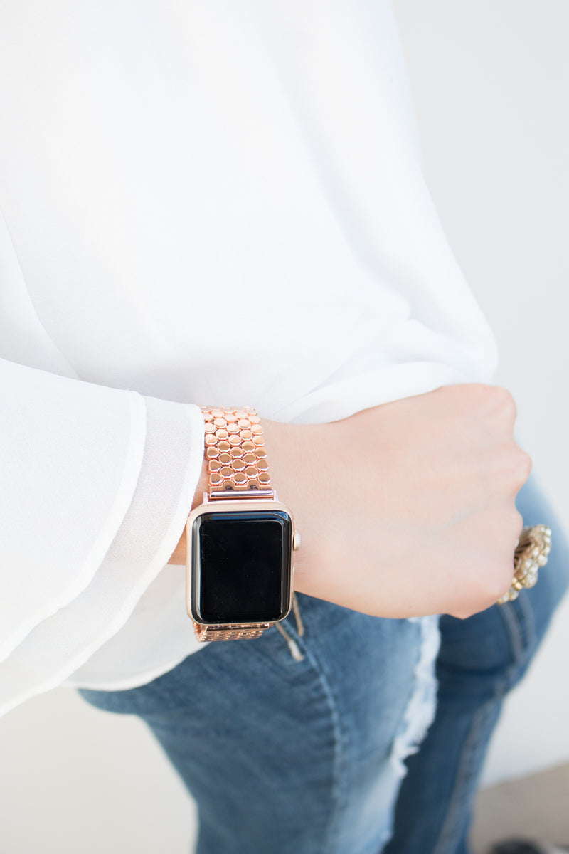 Mia Stainless Steel Apple Watch Band