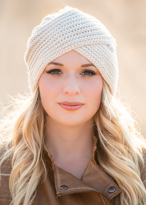 Turban Knit Beanie | 5 Colors