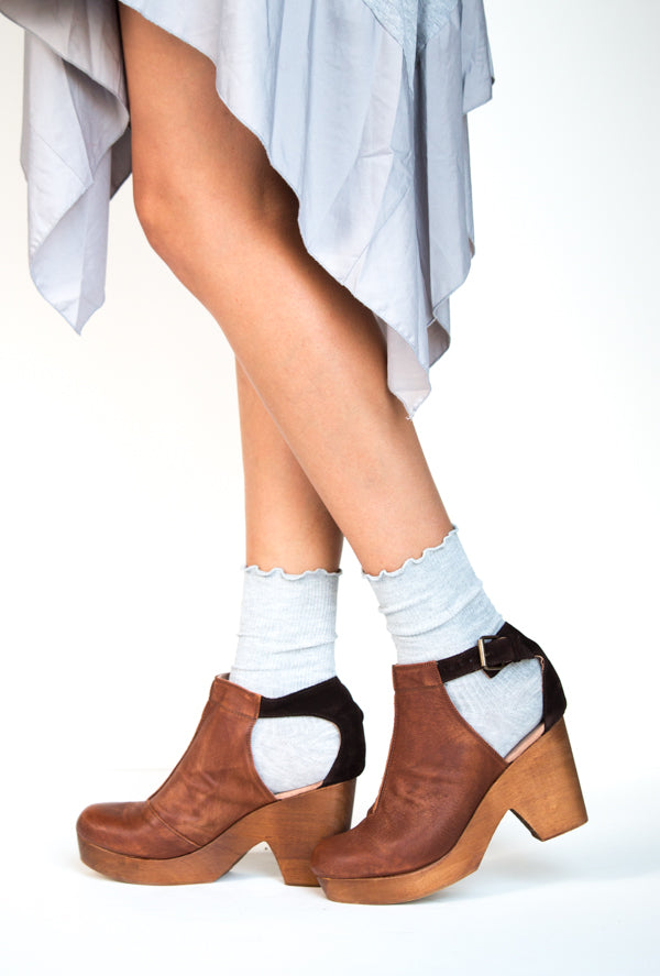 Ruffled Crew Socks | 10 Colors