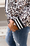 Blair Leopard Bomber Jacket