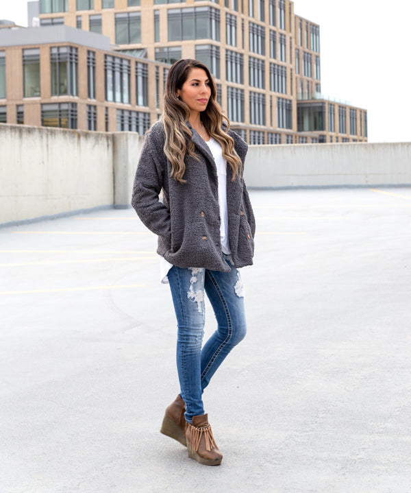 Plush Sherpa Jacket | S-2XL