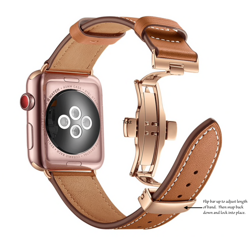 Jane Leather Apple Watch Band