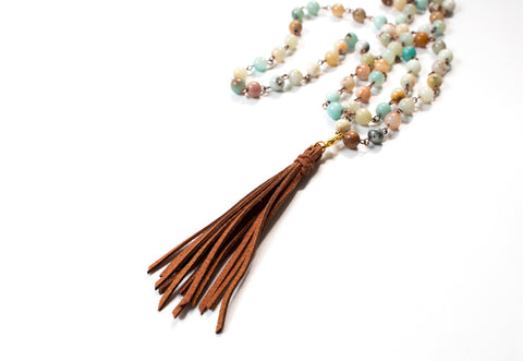 The Sierra Squash Bottom Necklace