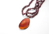The Layla Natural Stone Pendant Necklace
